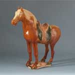 Reproduction Tang Burial Horse; Object 1999.45; From the Pohutukawa Collection